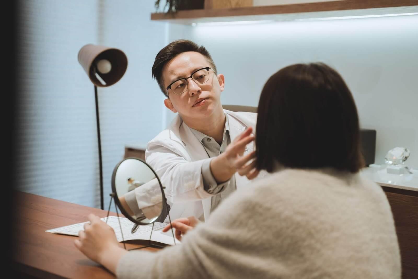 Nuyou甯寓美學醫師規劃治療部位